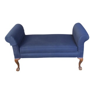 Queen Anne Aston Backless Bench