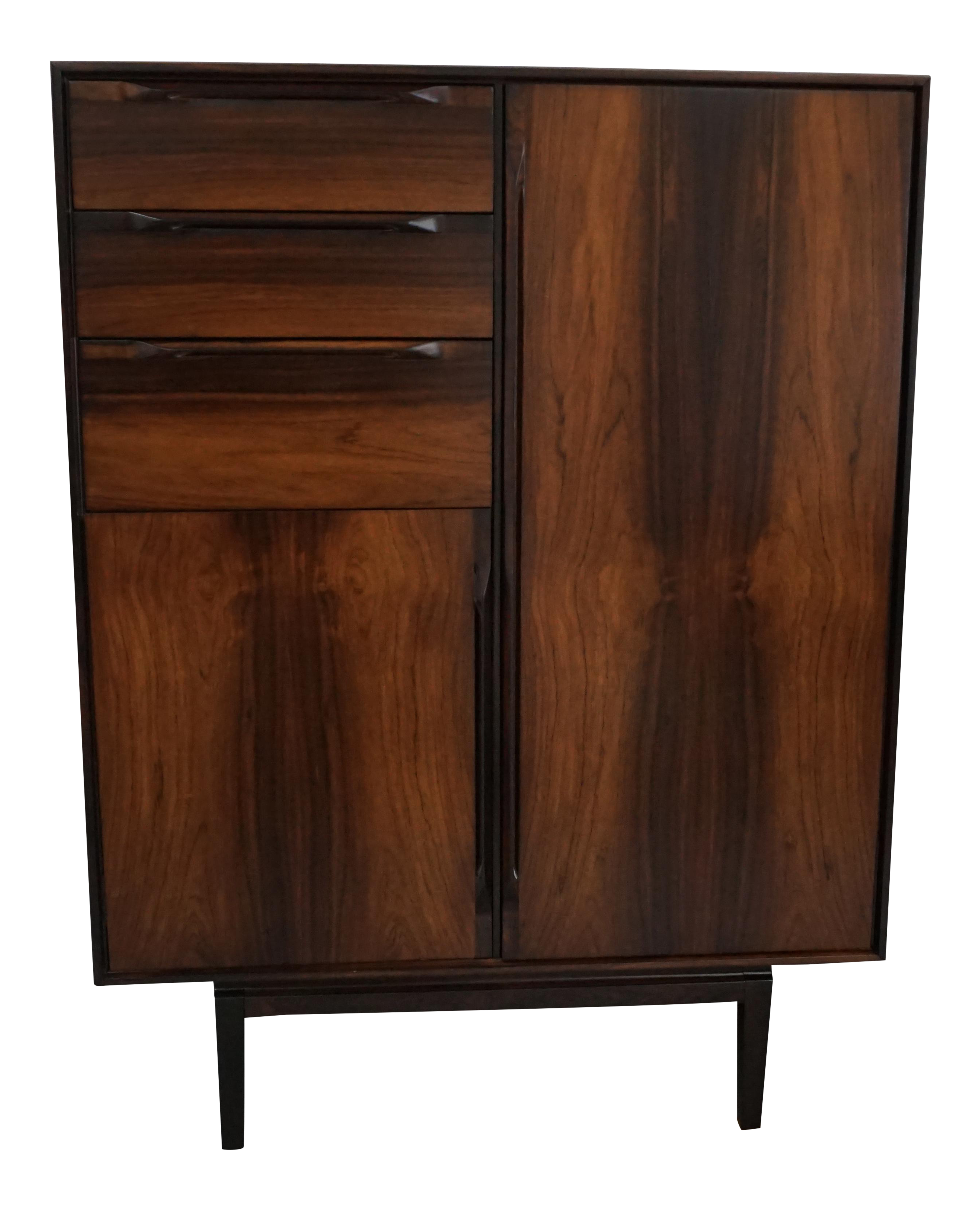 7c650188d8fbc Vintage   Used Mid-Century Modern Armoires Wardrobes and Linen Presses