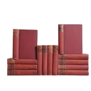 Russet Hawthorne Library Collection of Books - Set of 13