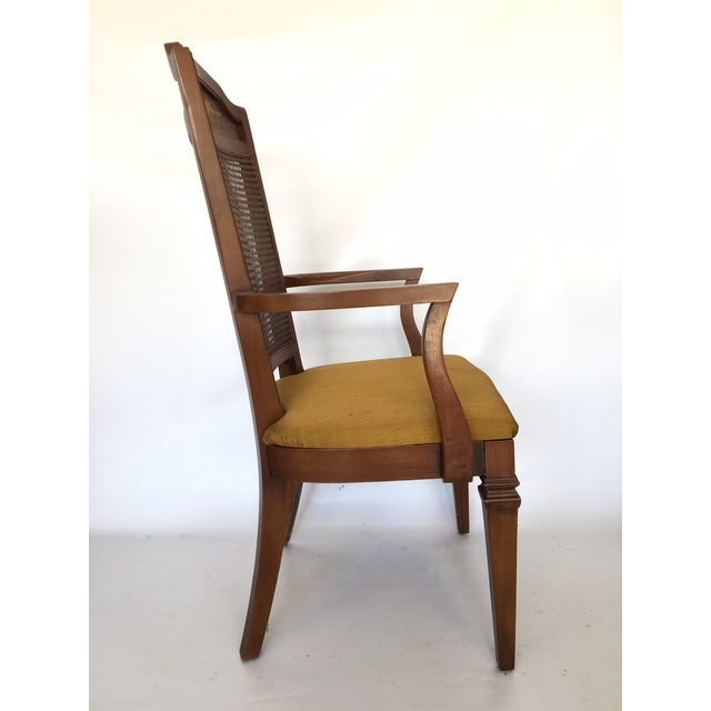 Dining Chair Sets Of 6: Century Furniture Hibriten Cane Back Dining Chairs