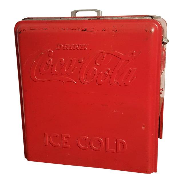 Vintage Coca Cola Ice Chest, Circa 1930's - Image 1 of 9