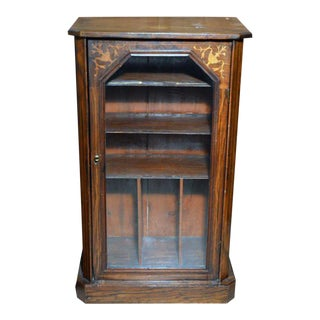 19th Century Neoclassical Revival Sheet Music Cabinet For Sale