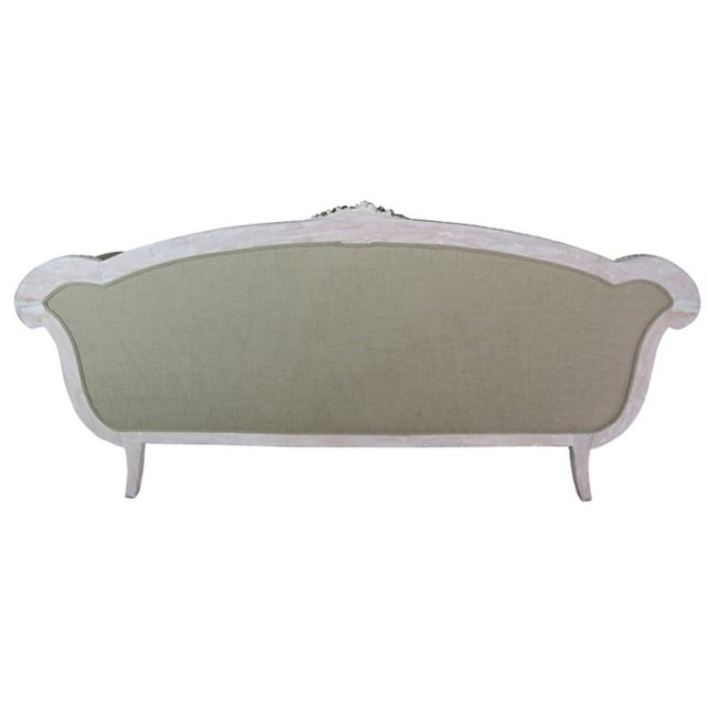 Italian Neoclassical-Style Painted Sofa - Image 5 of 7
