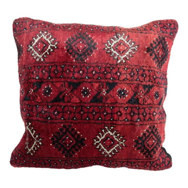 Boho Chic Carpet Pillow For Sale