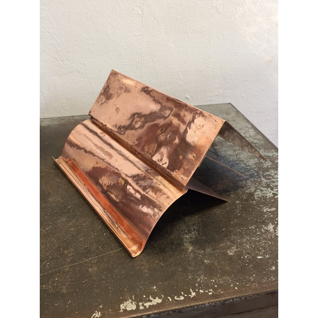 Copper File Sorter With Pen Rest - Image 6 of 6