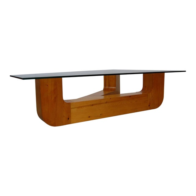 Sculptural Coffee Table by Jennie Lea Knight For Sale