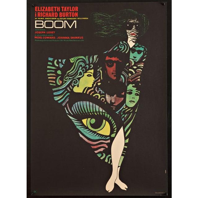 "1970 Polish ""Boom!"" Film Poster - Image 1 of 2"