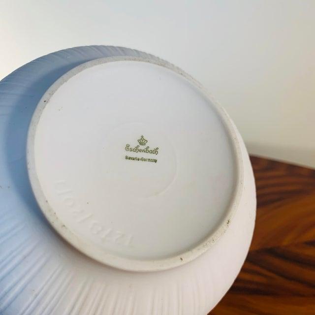 Rosenthal Vintage Rosenthal China White Textured Porcelain Vase For Sale - Image 4 of 5