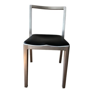 Phillipe Starck Brushed Metal Icon Chair