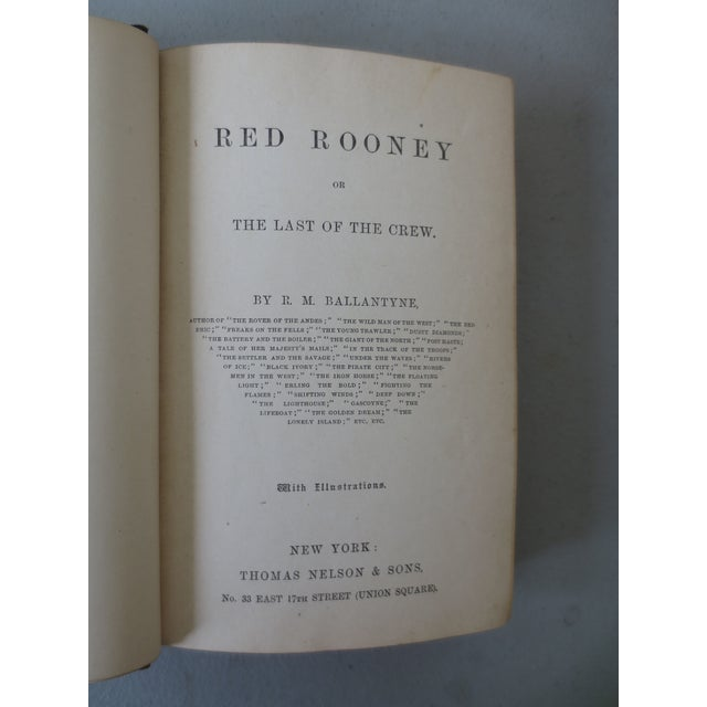 Antique 'Red Rooney or the Last of the Crew' Book - Image 5 of 7