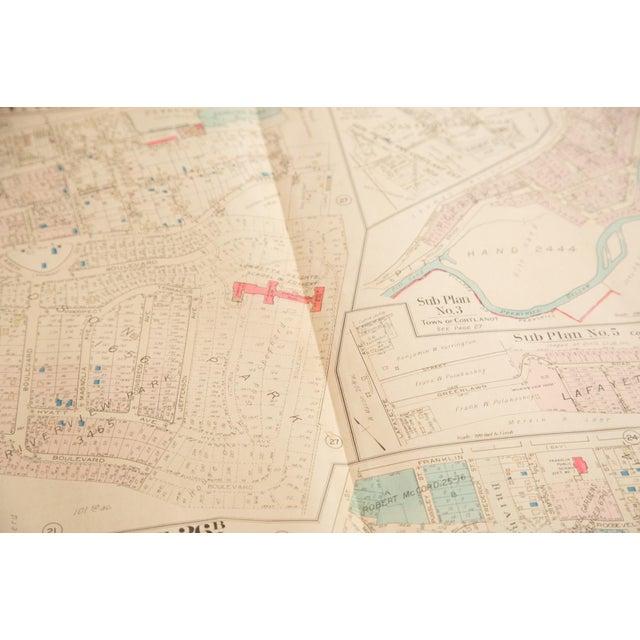 Vintage Hopkins Map of Village of Peekskill For Sale - Image 5 of 6