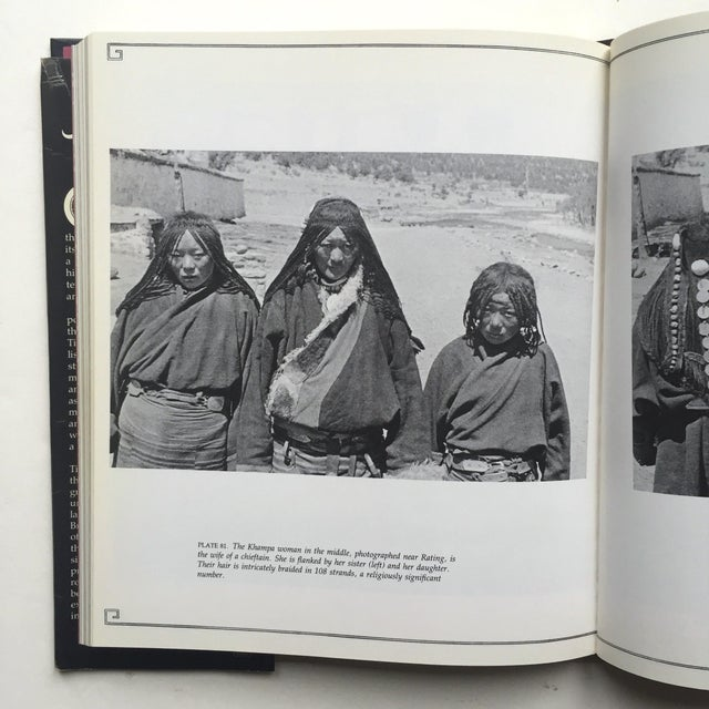 """This vintage 1980 first edition hardcover cultural history photography book titled """" A Portrait of Lost Tibet """" is..."""