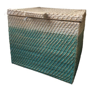 Palecek Ombre Trunk Basket For Sale