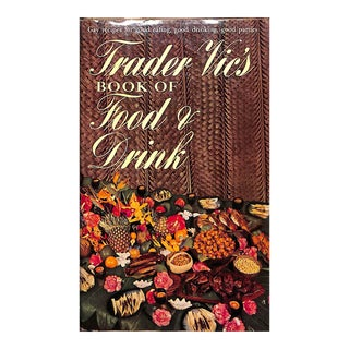 Trader Vic's Book of Food and Drink For Sale