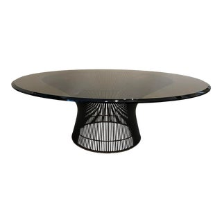 Mid-Century Modern Warren Platner Wire Cocktail Table with Bronze Finish For Sale
