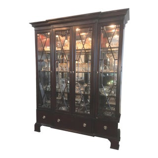American Signature China Display Cabinet For Sale
