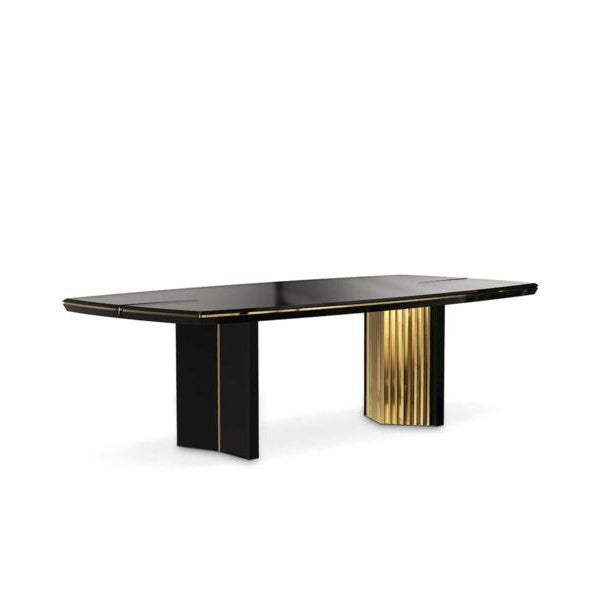 Modern Covet Paris Beyond Dining Table For Sale - Image 3 of 3