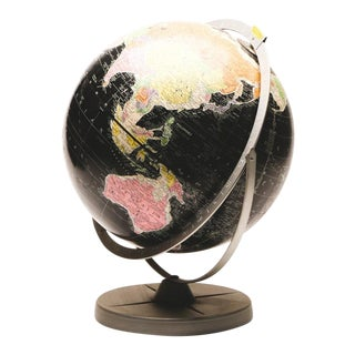 Vintage Globe by Encyclopedia Britannica For Sale