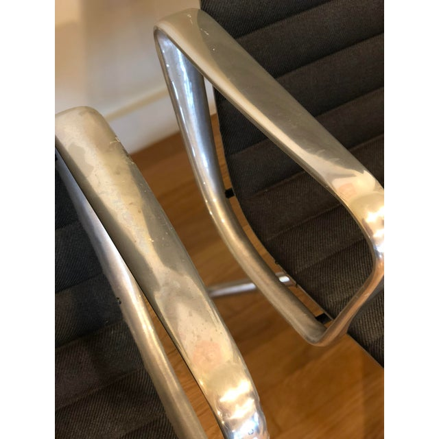 "Metal Vintage Herman Miller Eames ""Group"" Chair - A Pair For Sale - Image 7 of 9"