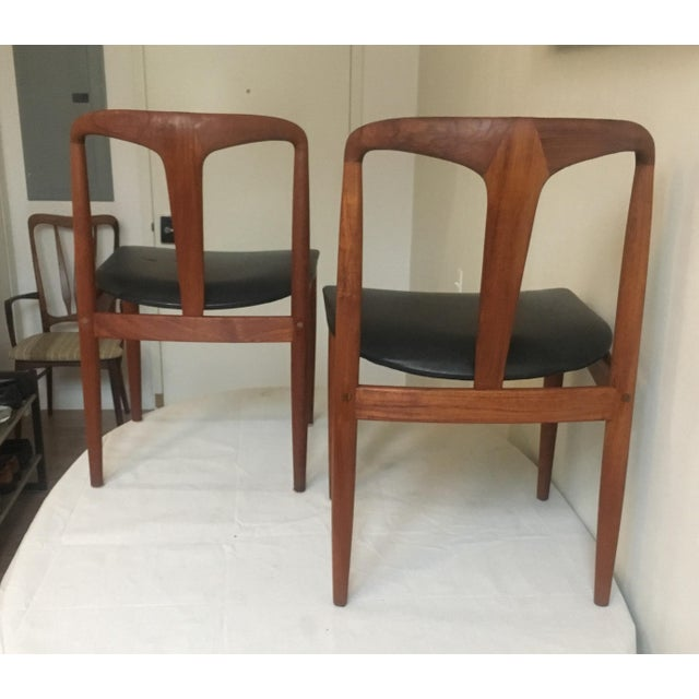 Teak Juliane Dining Chairs by Johannes Andersen - A Set of Two - Image 4 of 10