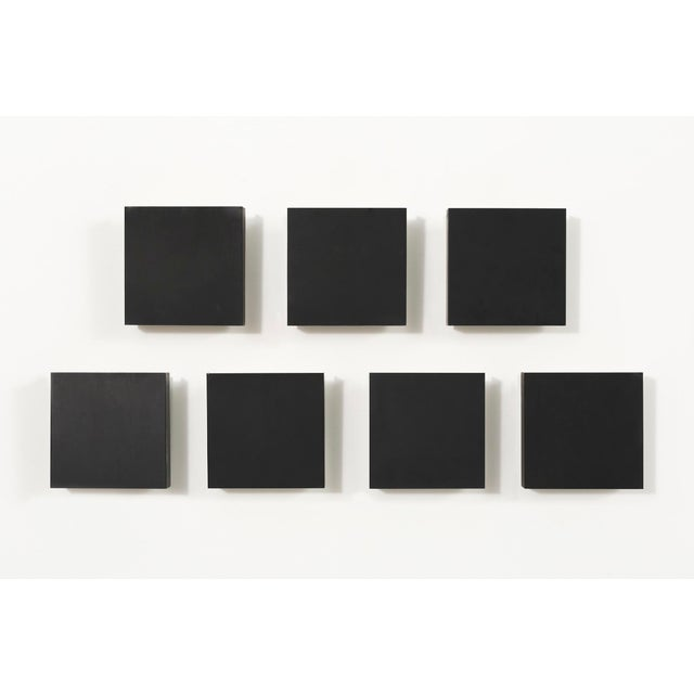 Metal Charlotte Perriand Square Sconce Lights - Set of 7 For Sale - Image 7 of 7
