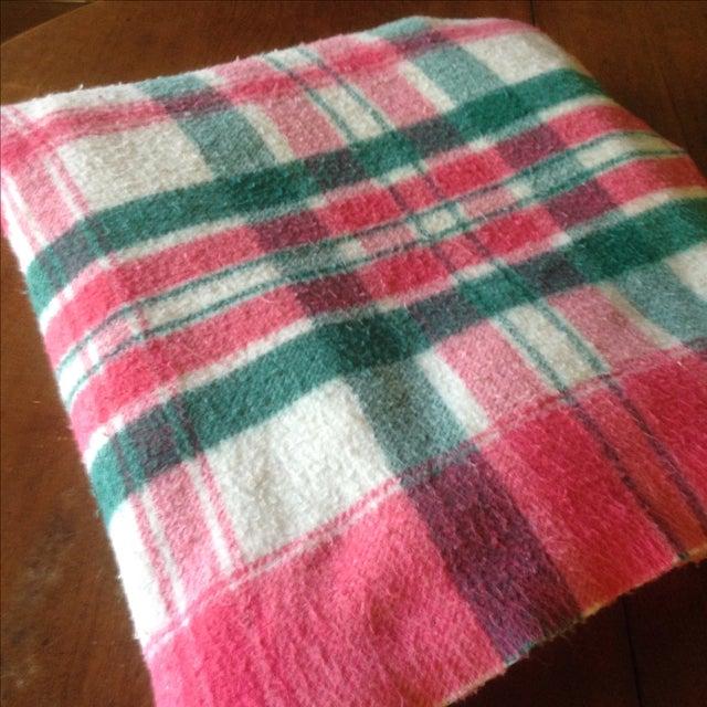 Vintage Plaid Picnic/Gameday Blanket - Image 9 of 11