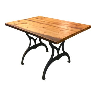 Reclaimed Antique White Pine Table