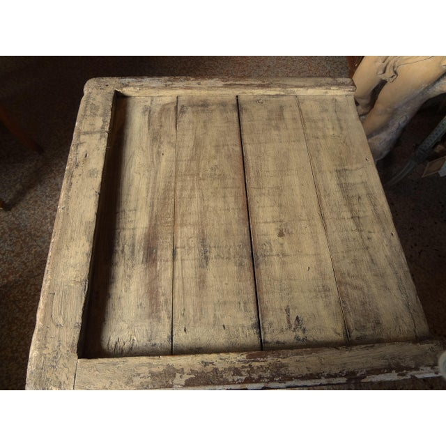 Late 19th Century Rustic French One Door Cabinet For Sale - Image 9 of 12