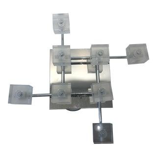 Kichler Modern Chrome Ceiling Mount Cube Light