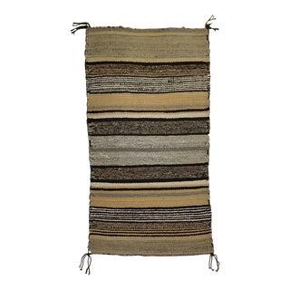 "Vintage Navajo Handmade Tribal Rug - 1'5"" X 2'7"" For Sale"