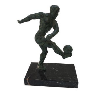 European Football Trophy Statue For Sale