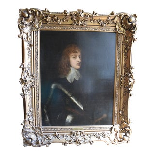 Oil Painting Attributed to the School of Anthony Van Dyck