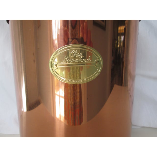 Vintage Coppertone Tall Ice Bucket - Image 6 of 7