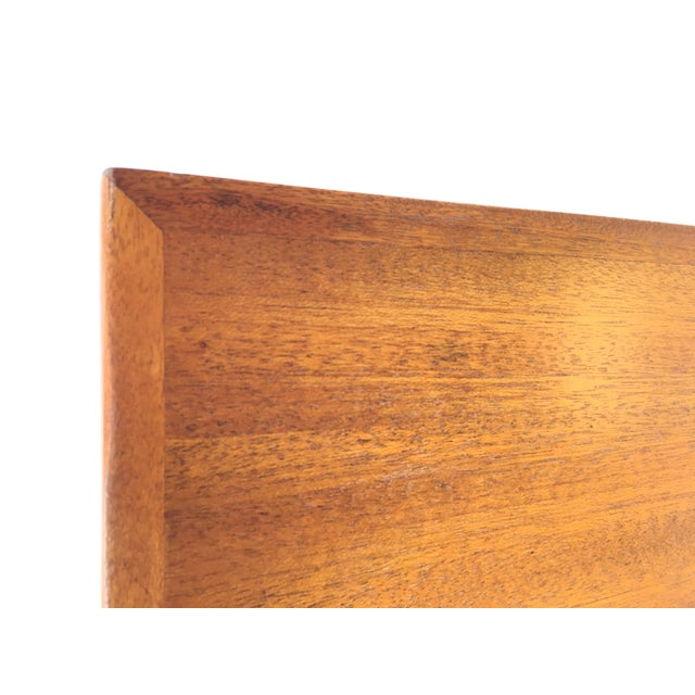 Luther Conover Mahogany and Iron Table, 1950 For Sale - Image 11 of 11