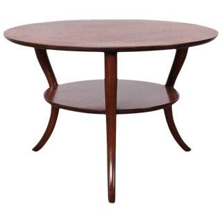 Saber Leg Table by T.H. Robsjohn-Gibbings For Sale