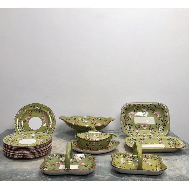 Part Spode Dessert Set, England 19th Century - 18 Pc. Set For Sale - Image 11 of 11