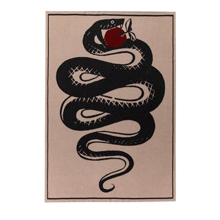 Serpent's Apple Cashmere Blanket, King For Sale