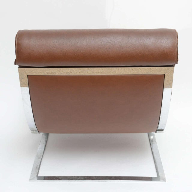Formanova Club Lounge Chairs - A Pair For Sale - Image 7 of 7