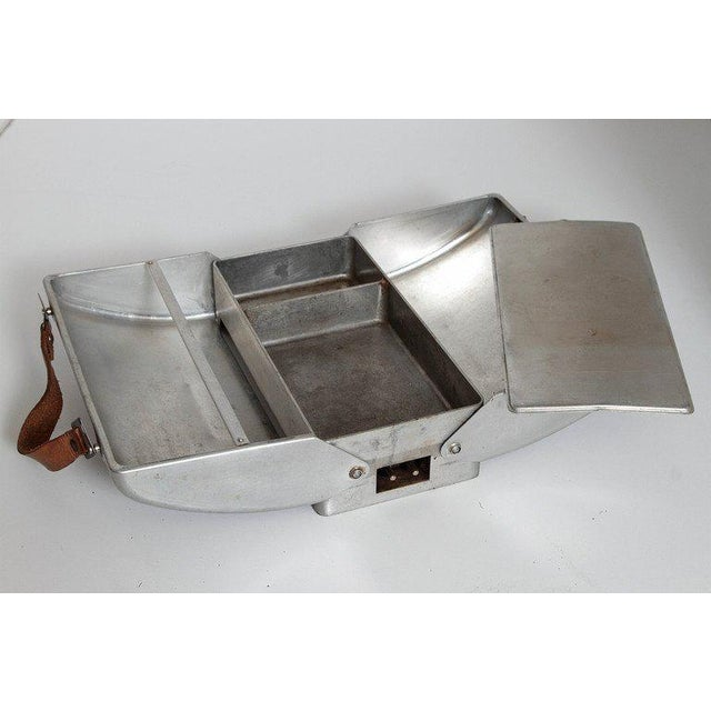 Art Deco Machine Age Polished Aluminum Industrial Design Classics Rideout For Sale - Image 10 of 11