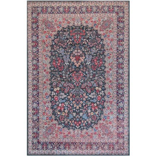 "Mansour Superb Quality Kerman Rug - 6'9"" X 10'4"" For Sale"