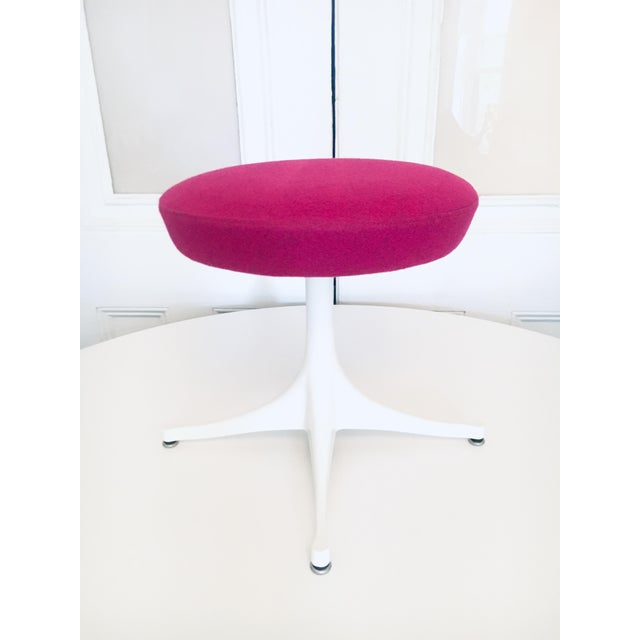 George Nelson Pedestal Stool Herman Miller Mid Century Modern Eames Era For Sale - Image 9 of 9