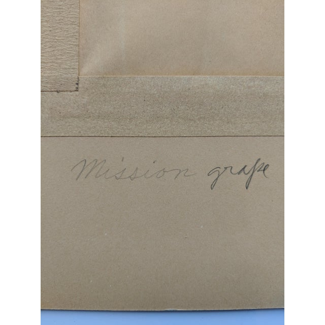 1960s Mission Grape Oil Painting For Sale - Image 5 of 6