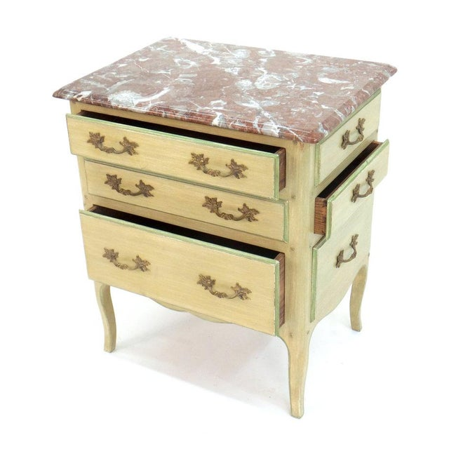 """Louis XV """"All-Drawer"""" Louis XV Style Table For Sale - Image 3 of 5"""
