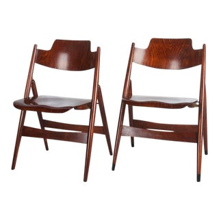 Mid-Century Folding Chair by Egon Eiermann for Wilde & Spieth For Sale