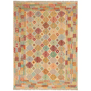 "Turkish Kilim Rug-8'0"" X 11'0"" For Sale"