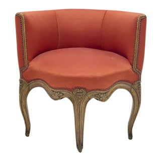 Antique French Louis XV Style Chair For Sale