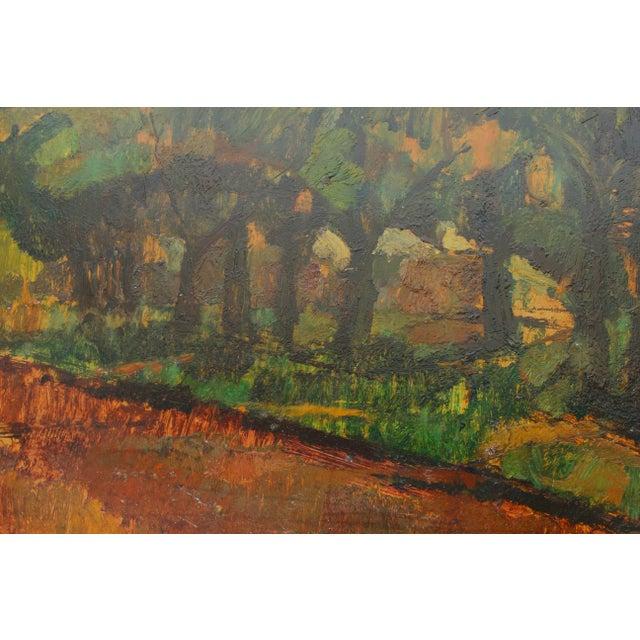Vintage Framed Landscape Painting - Image 4 of 4