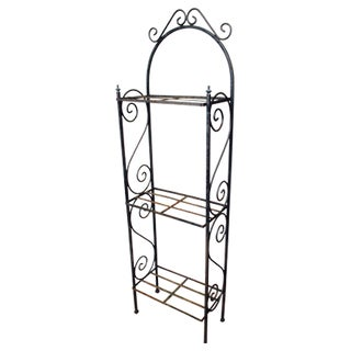 Industrial Iron Baker's Rack For Sale