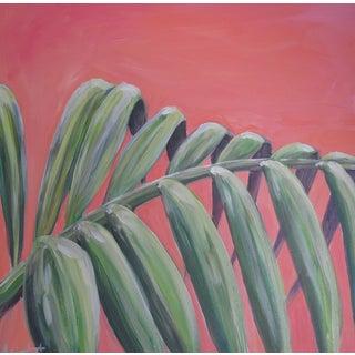 "Impressionist Acrylic Painting ""Islamorada Palm"" by Alice Miles"