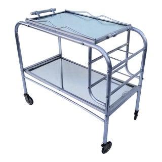 Jacque Adnet Bar Cart For Sale